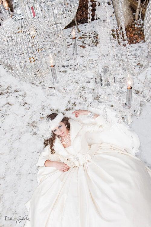 0014-Paul and Sylvia Photography - Winter Wedding - Snow Queen Wedding Shoot