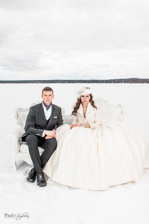 0019-Paul and Sylvia Photography - Winter Wedding - Snow Queen Wedding Shoot