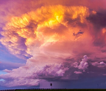 Awesom Storm Front That Darkened >> Storm Chasing Photography Adoramapix