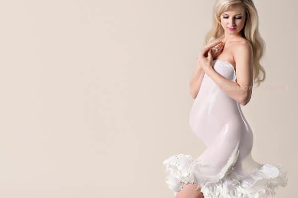 Maternity Milk Dress Seattle Eden Bao 2