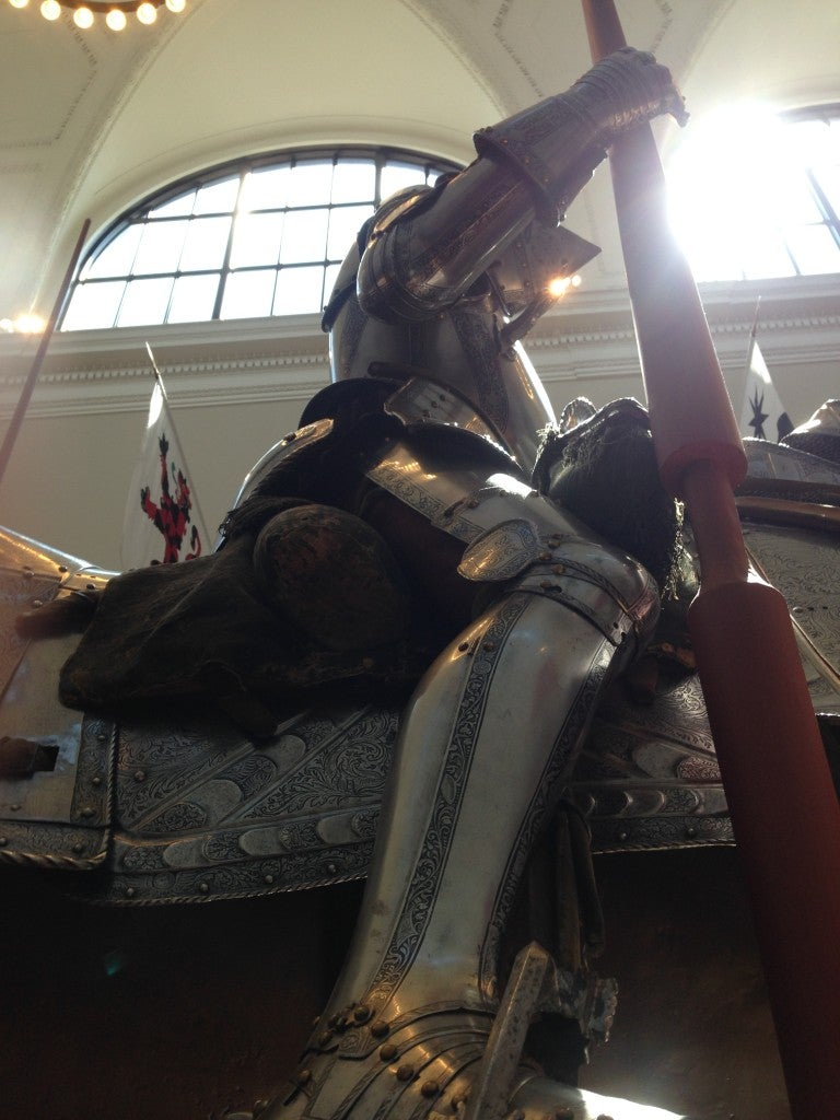 A knight's armor.