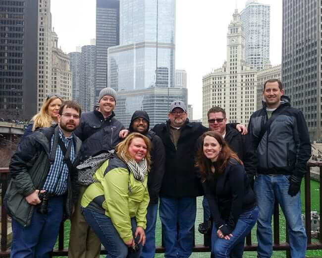 Drink & Click Chicago Crew - Green River