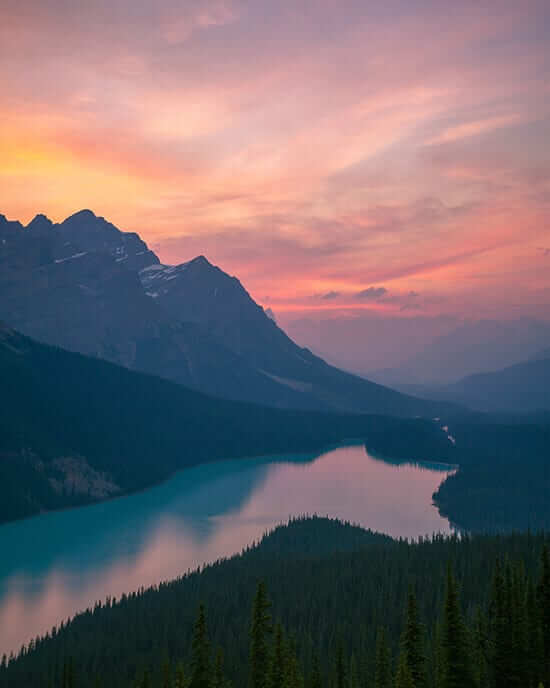 peyto lake instagram