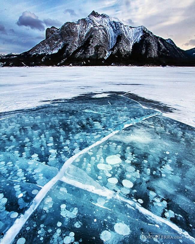 instagram torva terra photography frozen lake