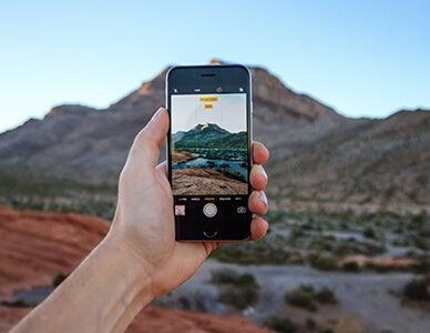 iphone camera landscape