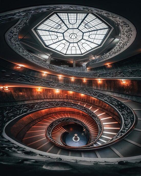staircase shot by mindz.eye