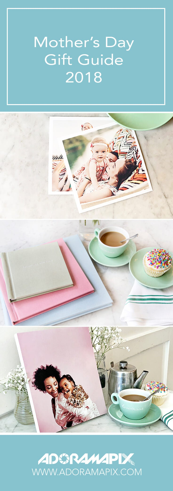 photo books stand outs and photo prints manufactured by AdoramaPix