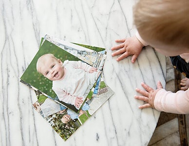baby looking at picture of itself by AdoramaPix