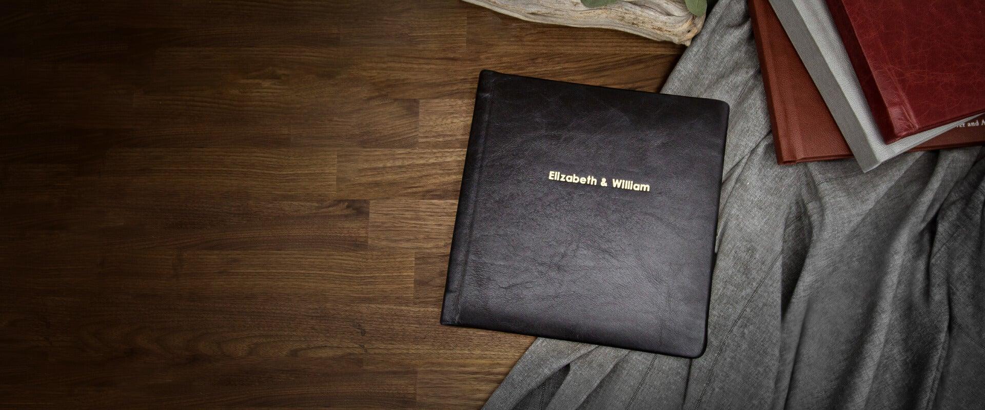 Leather Cover Photo Albums - AdoramaPix
