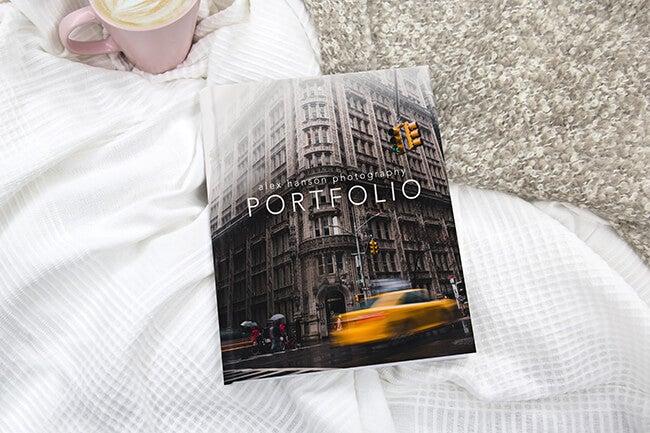 art portfolio premium album manufactured by adoramapix