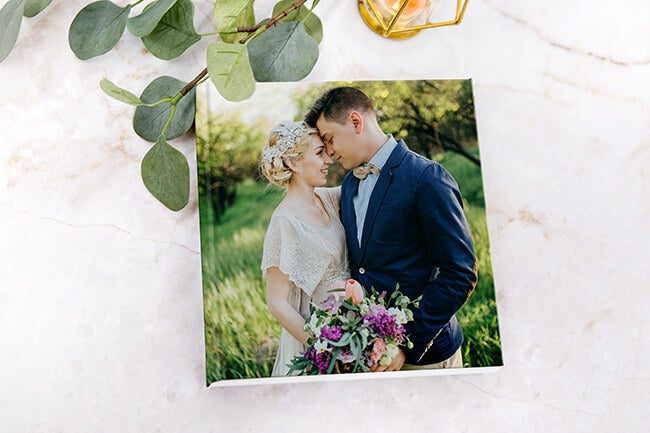 premium wedding album manufactured by adoramapix