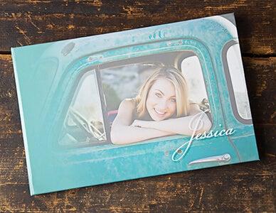 senior girl photography book by adoramapix