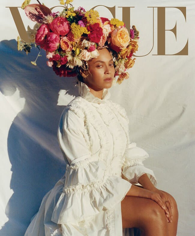 cover of beyonce vogue september