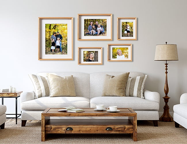 Wall Gallery with adoramapix framed prints