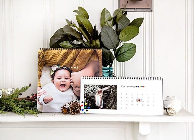 calendar produced by Printique
