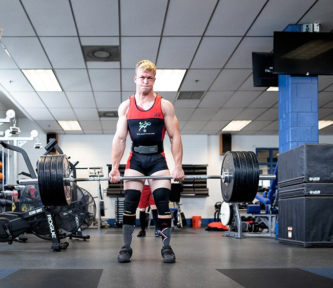 special olympian weightlifting