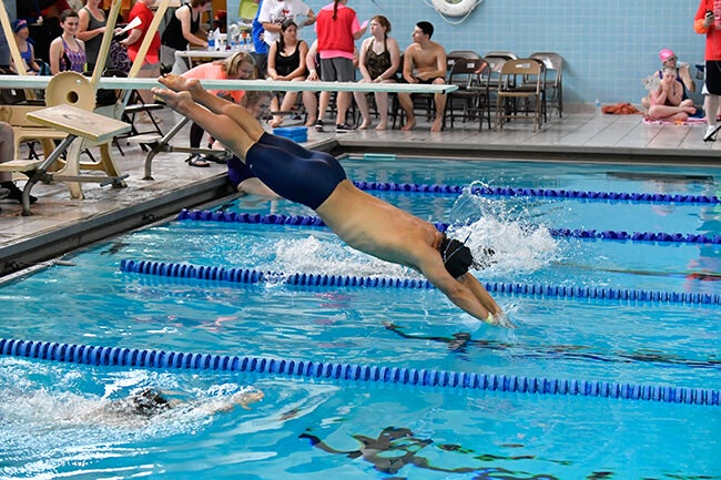 special olympian swimming