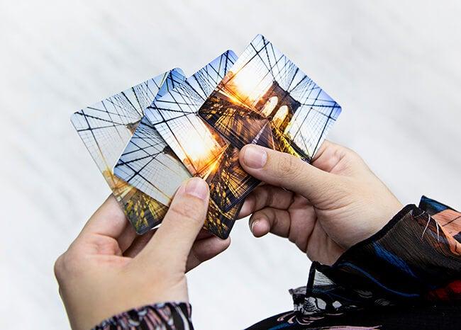 metal print samples by printique