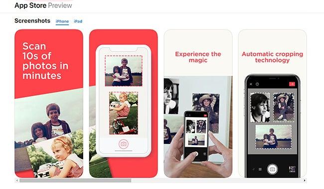 photo scanning app