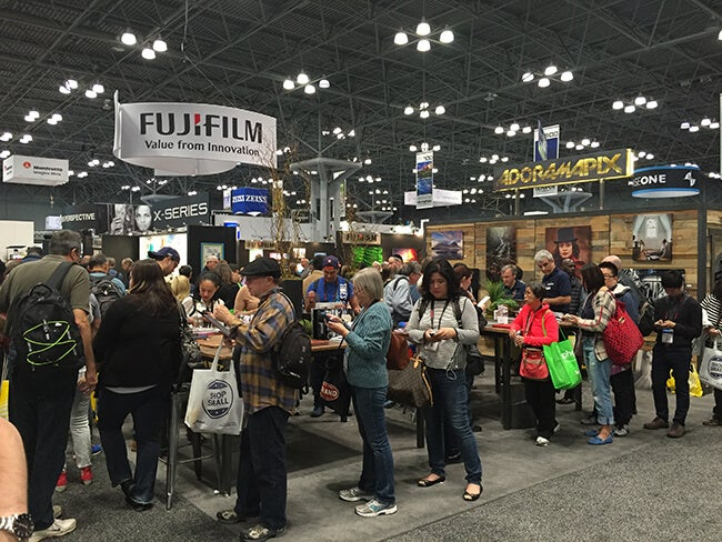 wppi 2016 Printique  booth at WPPI