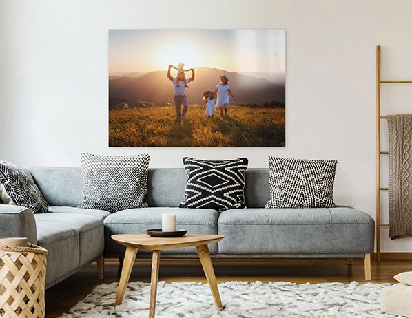 canvas print on wall produced by adoramapix