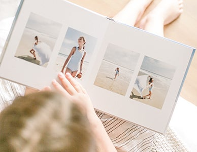beach portraits photo book by adoramapix