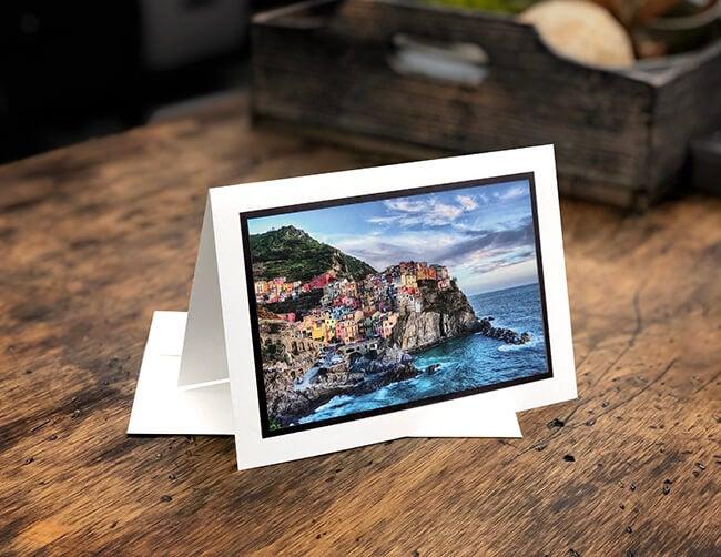 italian scene on fine art card by aodramapix