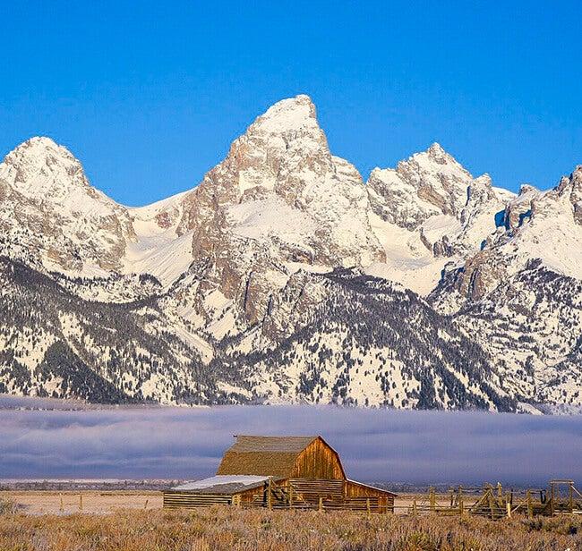 mountains in the grand teton