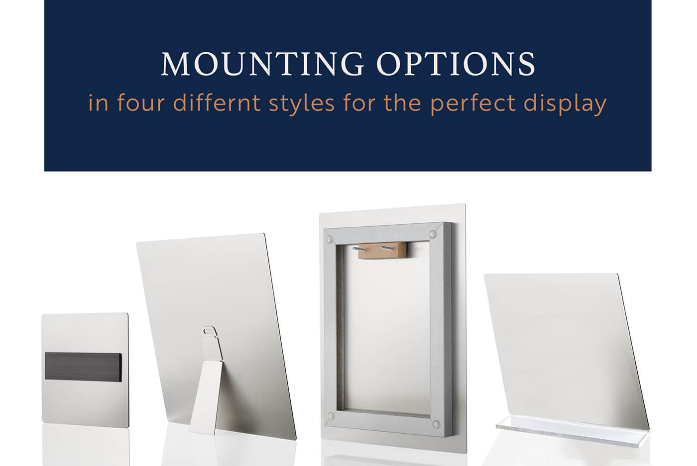 Metal Print Mounting Options