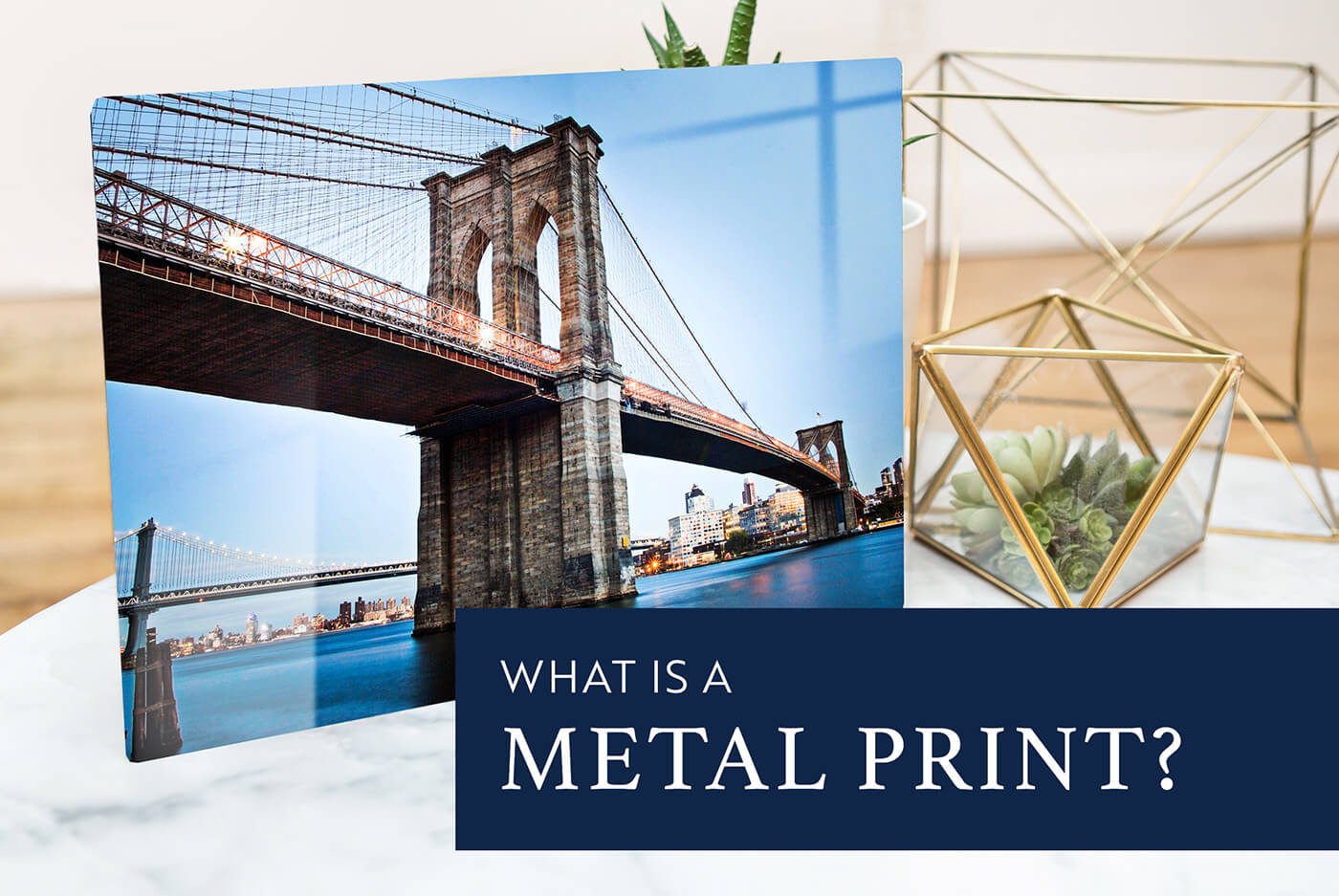What is a metal photography print