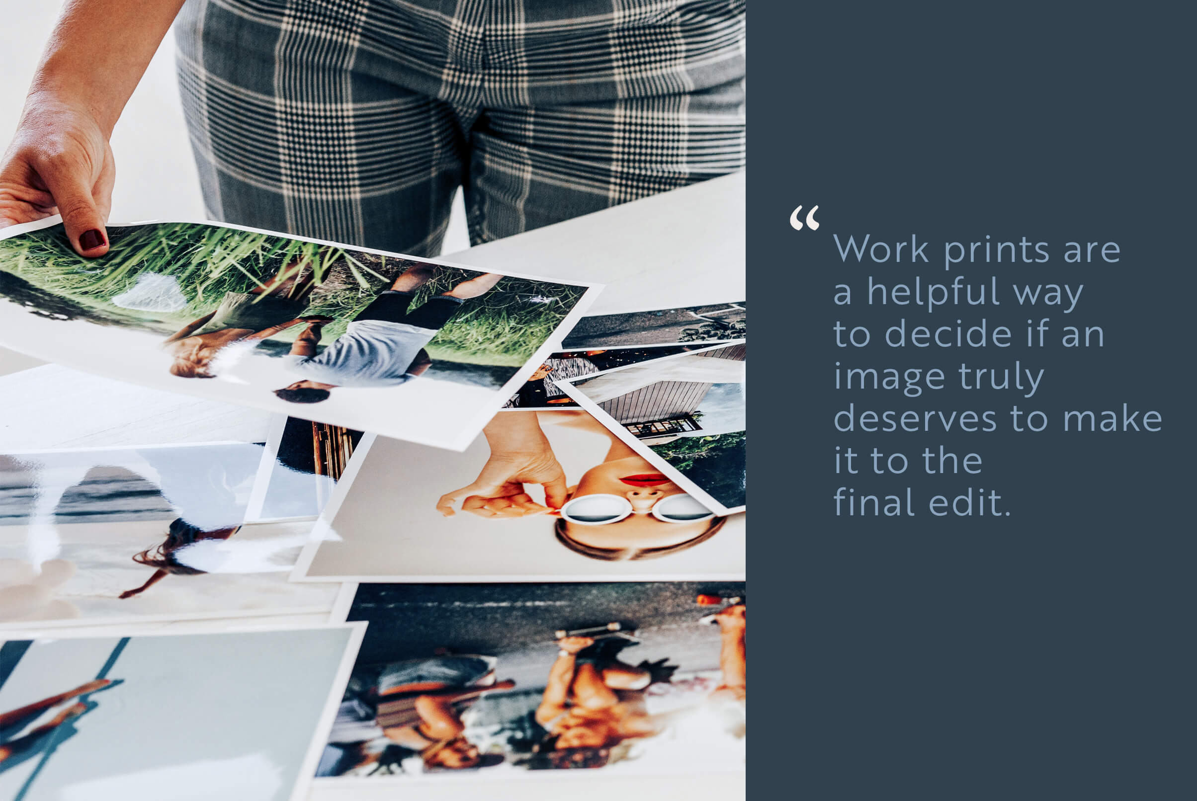 Which photos to print - Printique