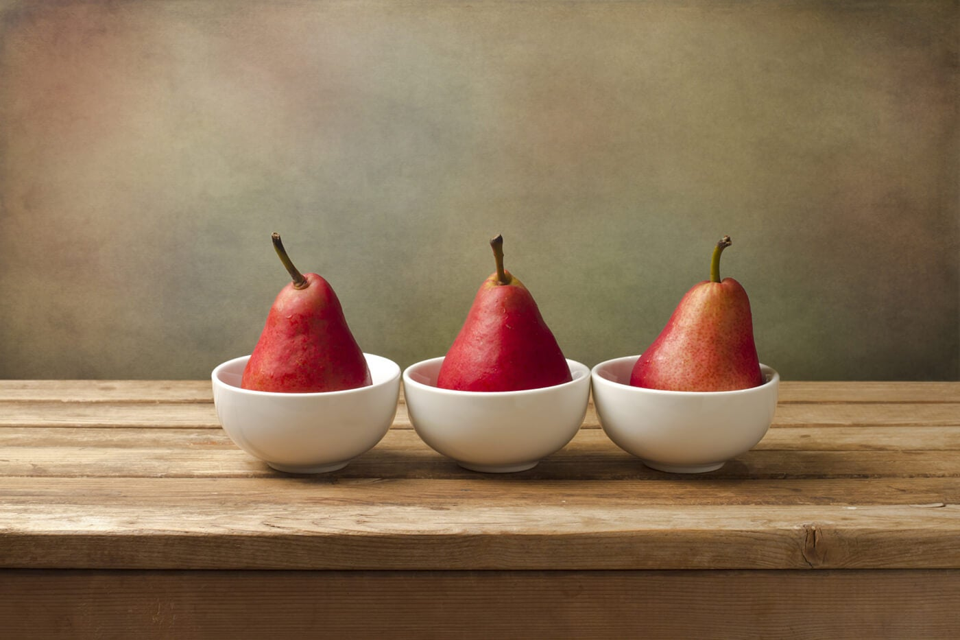 pears and bowls as fine art photo prints